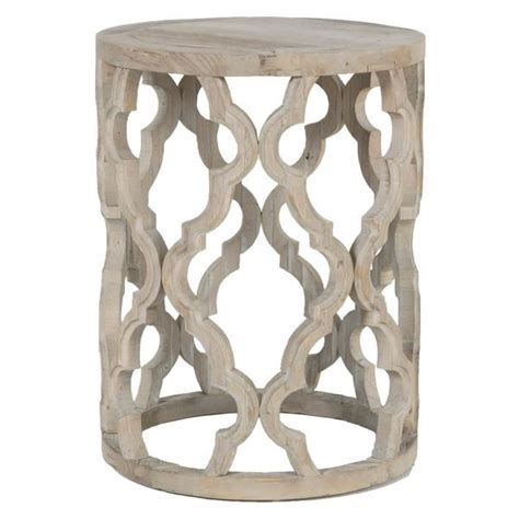 grey wood end tables gray distressed moroccan wood end table