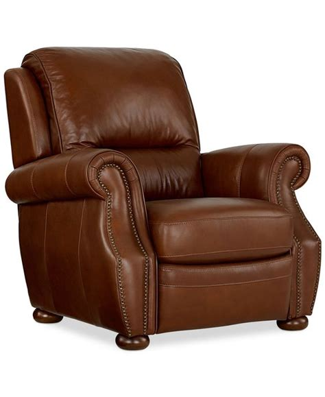Macy Chairs Recliners by Royce Leather Recliner Chair Chairs Recliners