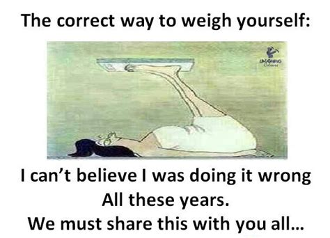 the correct way to weigh yourself jokofy pictures