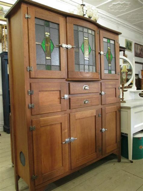 Cabinet With Dresser by Antique Restored Leadlight Cupboard Cabinet Kitchen