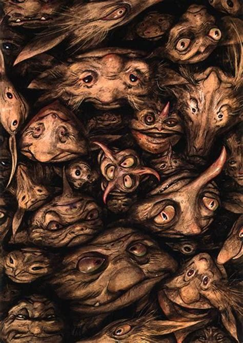 libro the labyrinth mythical beasts 85 best fairies brian froud images on brian froud mythical creatures and troll