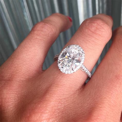 Wedding Rings Oval by Soleste Oval Engagement Ring Marrige