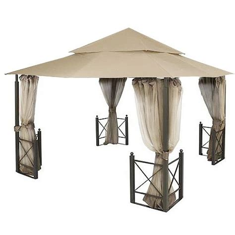 Cloth Gazebo Garden Winds Riplock Fabric Replacement Canopy For Harbor