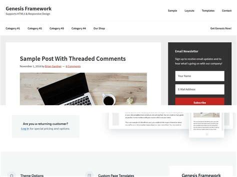 Popular Lifestyle Wordpress Themes 2017 Genesis Framework Templates