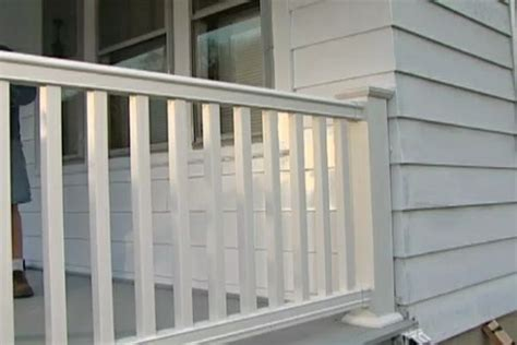 learn   replace  install composite porch railing