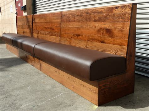 wooden restaurant benches cool banquette bench which suitable for dining room and