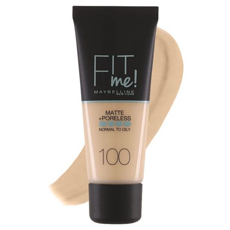 Normal Mascara Maybelline maybelline fit me matte poreless foundation normal to
