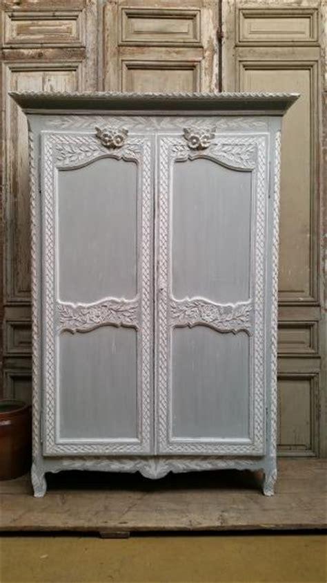 armoire normande peinte ancienne armoire normande peinte