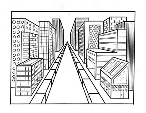 One point perspective drawings striplett14 s blog