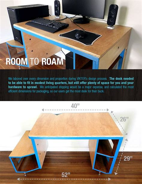 gaming desk designs 25 best ideas about gaming desk on pinterest pc setup