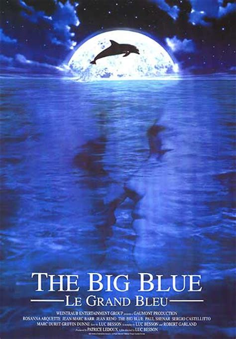 The Big Blue by Big Blue Posters At Poster Warehouse