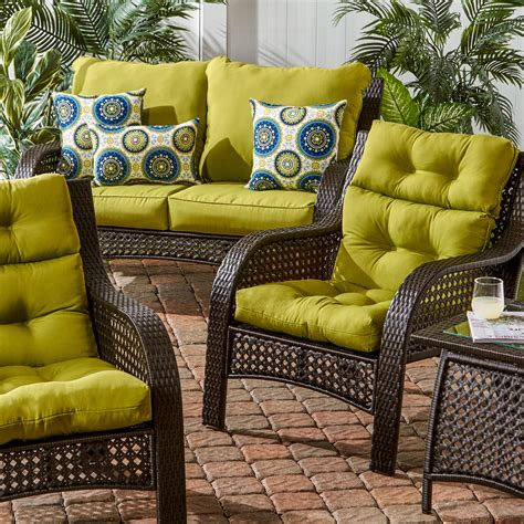 darby home  outdoor high  chair cushion reviews