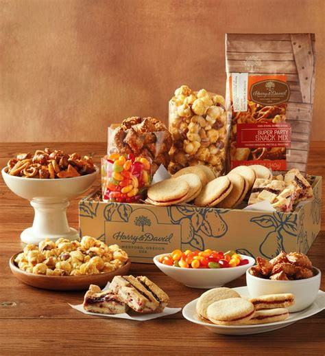 delivery for gifts sweet and salty gift box gourmet food gifts harry david