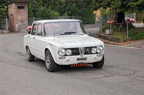 vintage alfa romeo giulia vintage car alfa romeo giulia editorial
