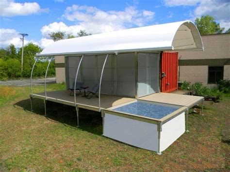 relaxshacks com a very unique 500 square foot shipping