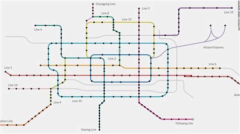 beijing subway map china approves 36 billion rail project nov 28 2016