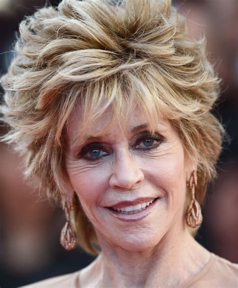 back view of jane fondas hair fonda hairstyle front and back more pics of jane fonda