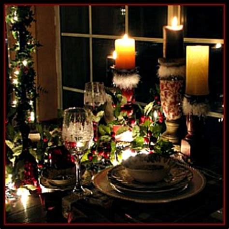 Country Rustic Home Decor Vintage Christmas Tablescapes