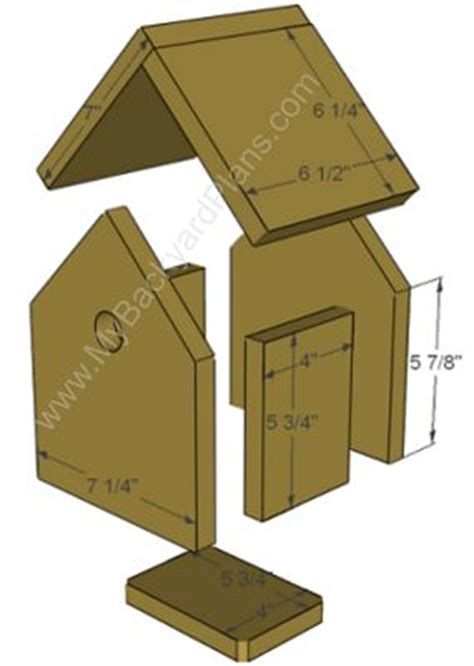 How To Make A Bird Out Of Construction Paper - 25 unique bird house plans ideas on bird