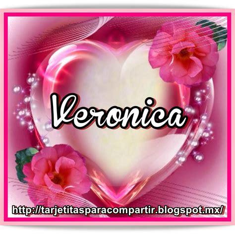 imagenes te amo vero ღღtarjetitasღღ nombres en corazon rosa