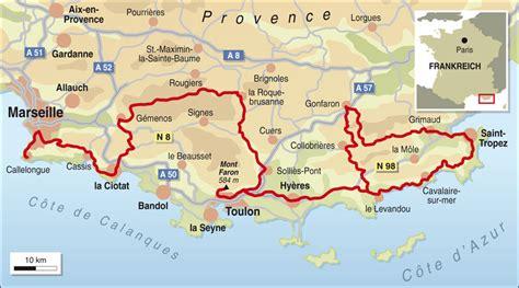 Motorradtouren Frankreich Karten by Frankreich Spezial Provence Info Karte Tourenfahrer Online