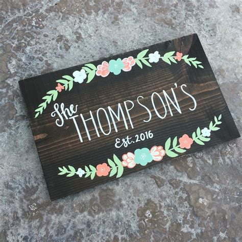 Handmade Wooden Signs Custom - 1000 ideas about family names on family name