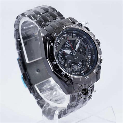 Jam Tangan Pria Merk Casio Edifice Ef 550 Chronograph Stainless Steel harga sarap jam tangan edifice ef 550bk 1av black