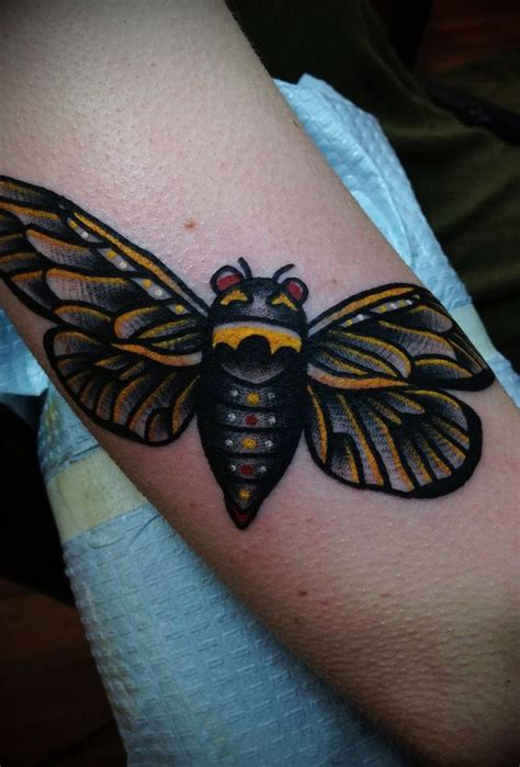 locust tattoo insects bees and insect on