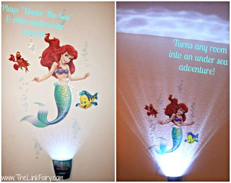 wild walls little mermaid light sound room decor only wall friends and wild walls by uncle milton review