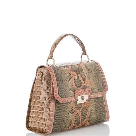 Stylish Snake Satchel Sans A Non Stylish Price From M Z Wallace Fashiontribes Fashion by Designer Handbags Leather Purses Brahmin