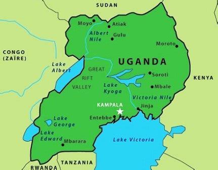 africa map uganda uganda the best countries in africa