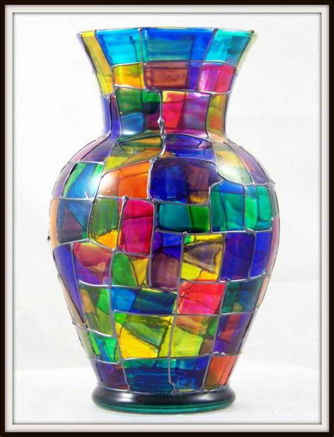 glass vase decorating ideas glass painting ideas for