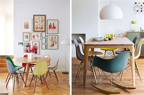 copie chaise design d 233 coration id 233 e inspiration avec chaise de table rar pied bois design eames jaune bleu vert