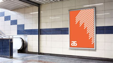 90 Free Outdoor Advertisment Branding Mockup Psd Files Designbolts Subway Poster Template