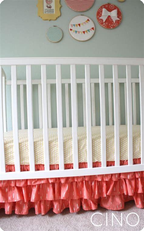 Ruffled Crib Skirt Diy by 25 Unique Ruffled Crib Skirts Ideas On Crib