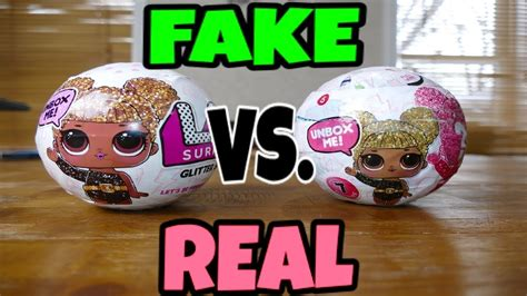 Lol Glitter Series vs real lol dolls glitter series how to spot a