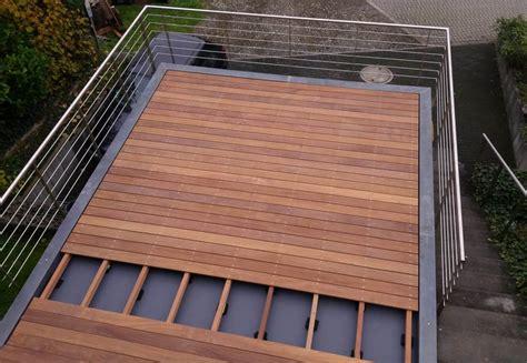 Terrassendielen Unterkonstruktion Balkon by Bauanleitung F 252 R Holzterrassen Terrassendielen Verlegen