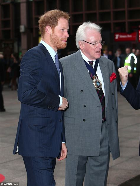 Prince Harrys Chelsy Wears 45 Warehouse Dress by Prince Harry Touches In For Icap Charity Event
