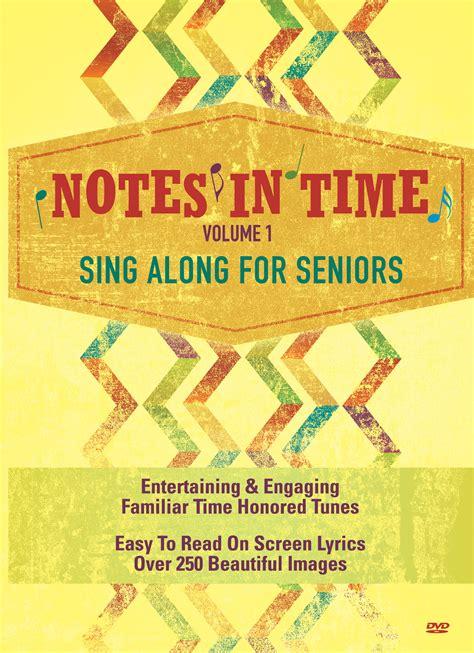 notes  time singalong dvd  seniors