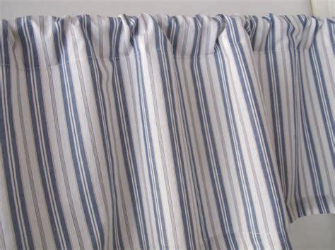 Blue Ticking Curtains Blue Ticking Curtains Blue Ticking Stripe Shower Curtain Made In By Oldechurchemporium 2