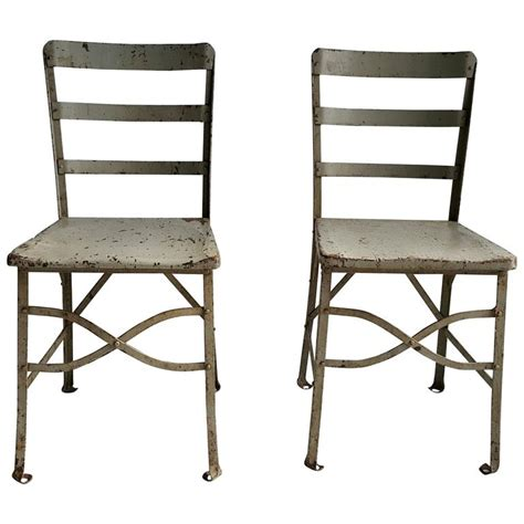 American Chair Factory by Pair Of American Modernist Industrial Chairs Factory