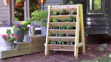 How To Build A Herb Garden Planter Box by How To Build A Vertical Herb Planter