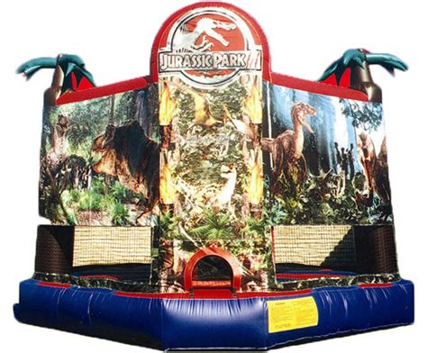 Bouncy House Rentals Nj by Jurassic Park Jump