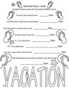 end of school coloring sheets 1000 images about 3rd grade word study on adjectives for cut and paste and