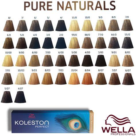 illumina color wella cartella colori wella koleston haarfarbe coloration alle nuancen