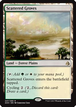 akhcube allied cycling dual lands cube card