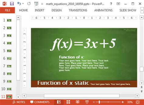 Animated Math Equations For Powerpoint Powerpoint Math Templates