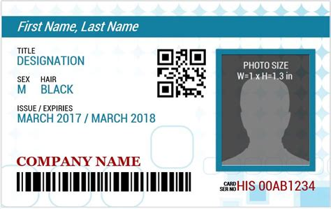 id card template free download word free id cards templates id card