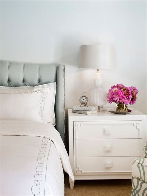 white tufted headboard with nailhead trim transitional taupe tufted wingback headboard with black and white