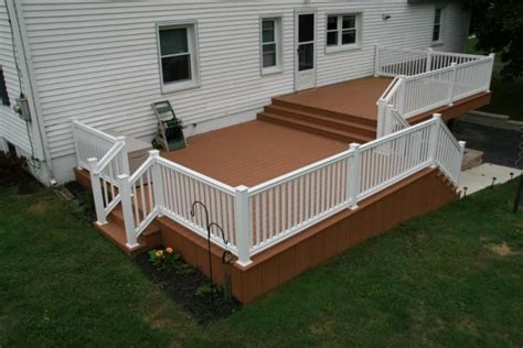 split level deck plans images of small bi level homes split level azek deck